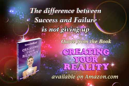 Creating Your Reality Book Quote - By Steven Redhead